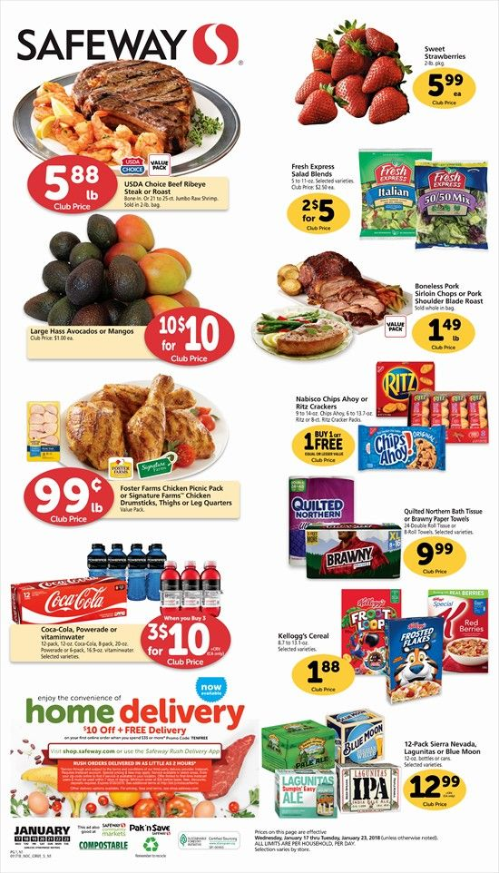 Safeway Weekly Ad Flyer 03/11/20 03/17/20 Weekly ads