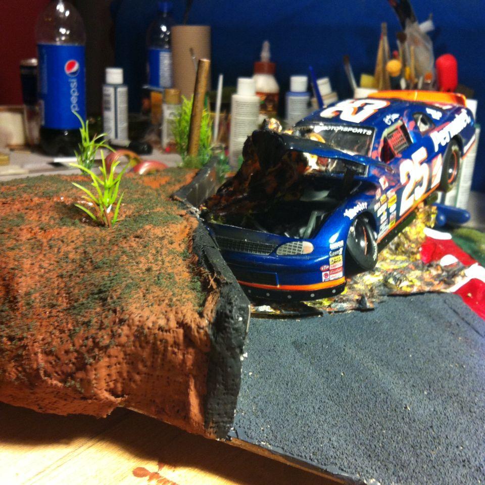 Épinglé par Tiger Tank sur Diorama crash NASCAR