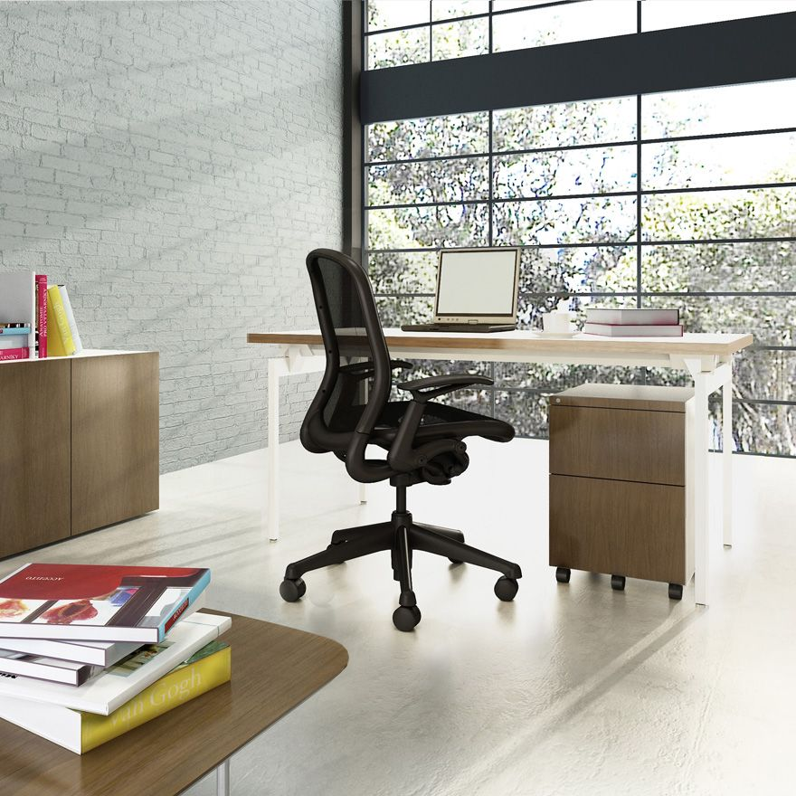 Chadwick Chair and Antenna Desk | Knoll Home Office | Home Offices ...