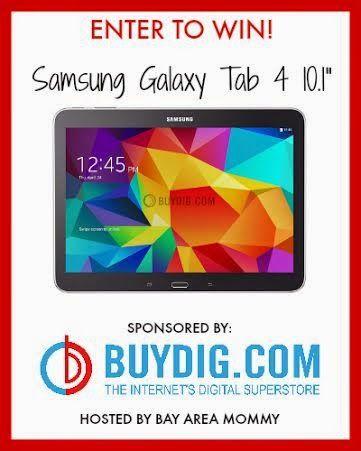 WIN a Samsung Galaxy Tab 4!