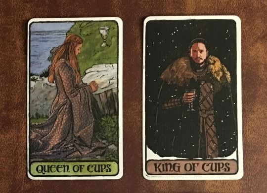 GoT Tarot Deck: Jon Snow & Sansa Stark in 2019 | Game of Thrones