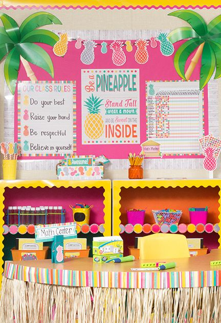 Free Classroom Decoration Resources : The tropical punch classroom theme from teacher created