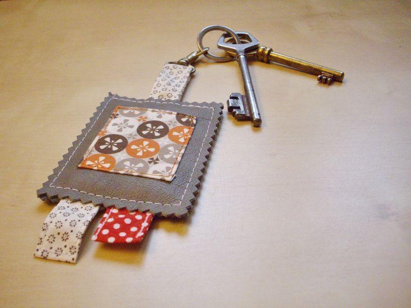 porte cles key fob holder keeper ring cl porte cl portes. Black Bedroom Furniture Sets. Home Design Ideas