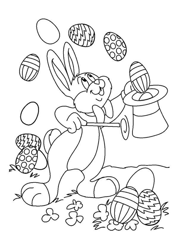 Print Coloring Image Momjunction Bunny Coloring Pages Easter Coloring Pages Printable Free Easter Coloring Pages