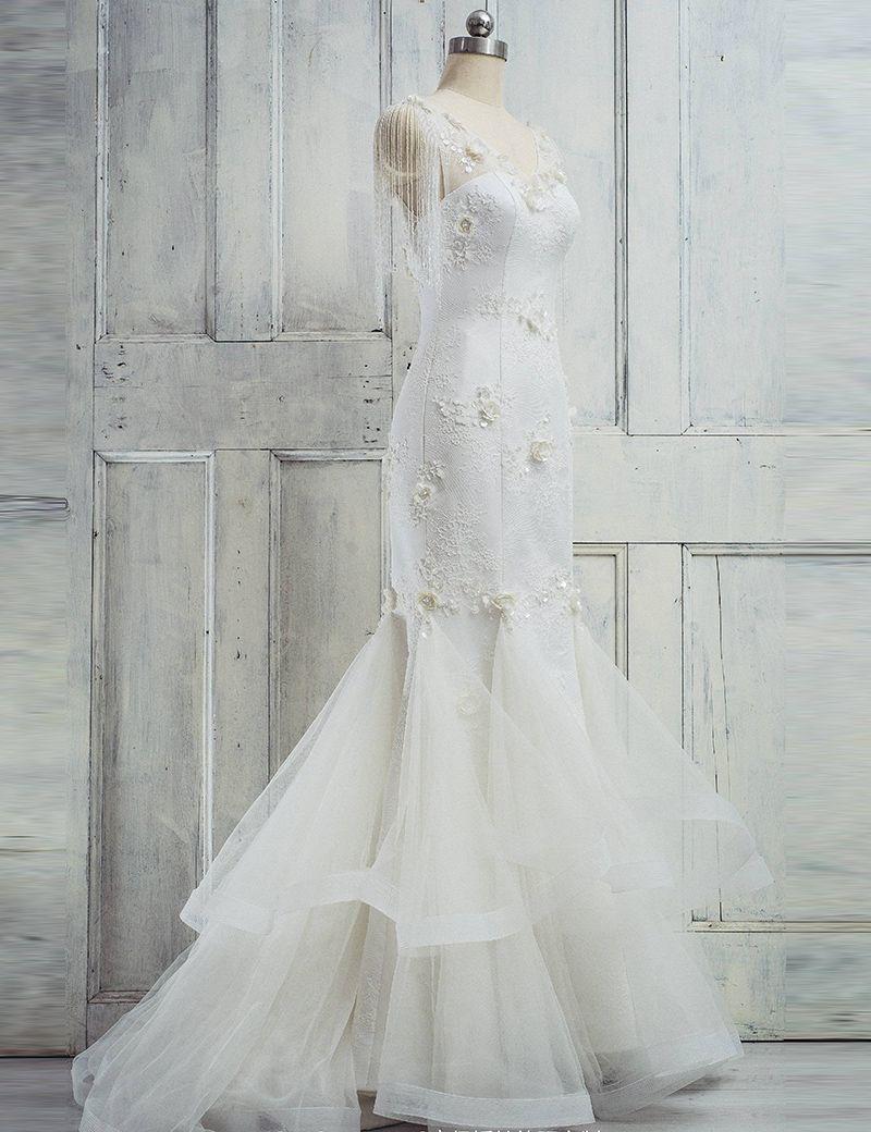 Mermaid wedding dresslong wedding dresses wedding dresswedding
