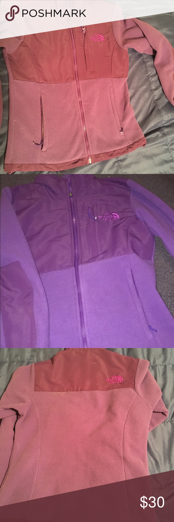 Brand new north face fleece jacket without tags north face fleece