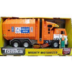 Tonka Mighty Motorized Vehicle Side Loader Truck Tracker From Zoolert Com Trucks Tonka Toy Trucks