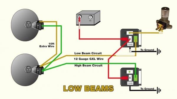 Headlight Relay Wiring Diagram How To Clean Headlights Motorcycle Wiring Automotive Care