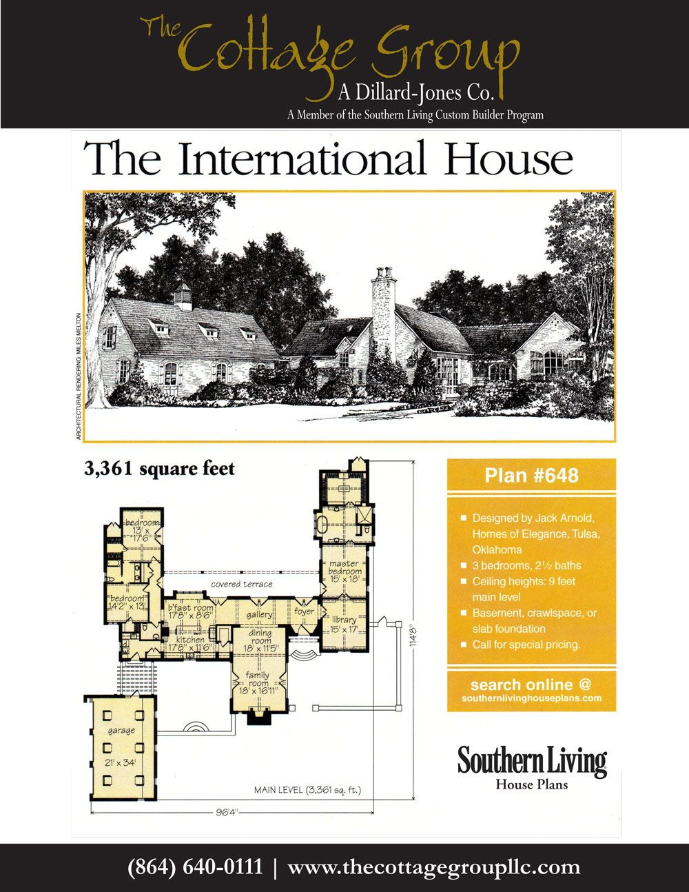 Suspended Southern Living House Plans Ranch House Plans House Plans
