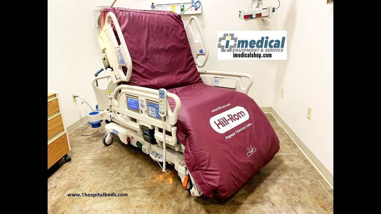 Hill Rom Progressa Bed Overview Bed sores, Bed, Hospital bed