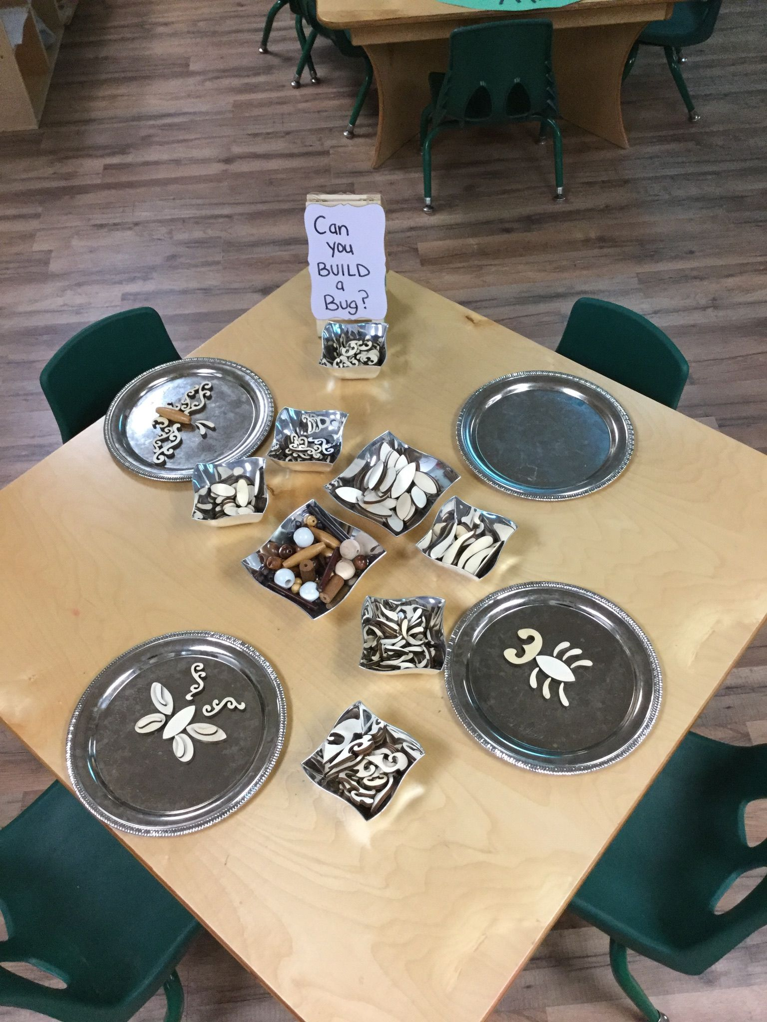 Invitation To Create Using Wooden Loose Parts