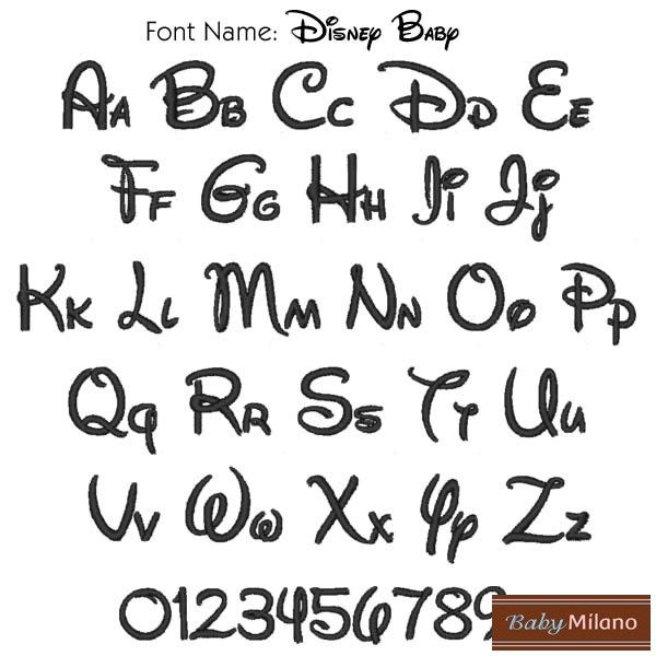 Disney Baby Font | Lettering, Printable alphabet letters ...