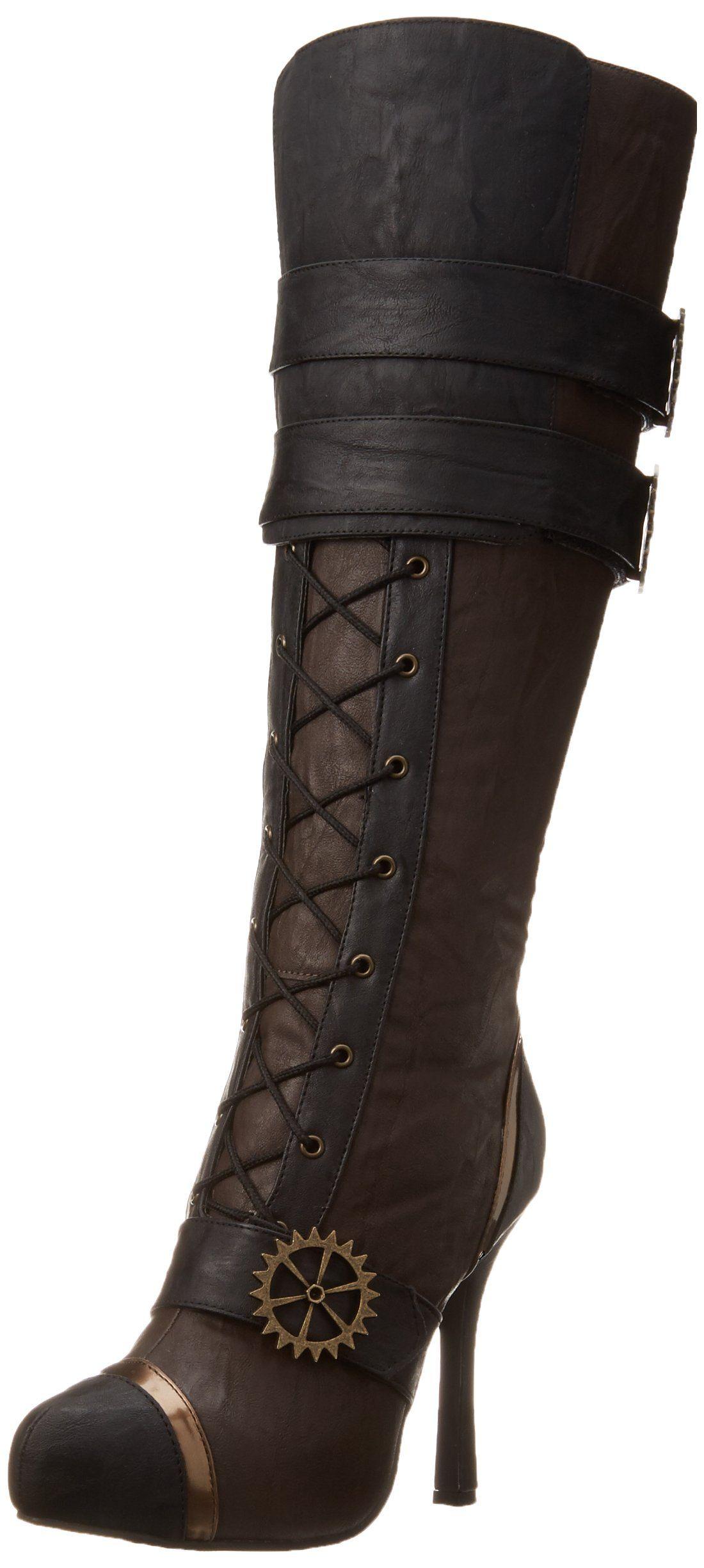 Ellie Shoes Bottes pour Femme - Noir - Noir K5yjD1,