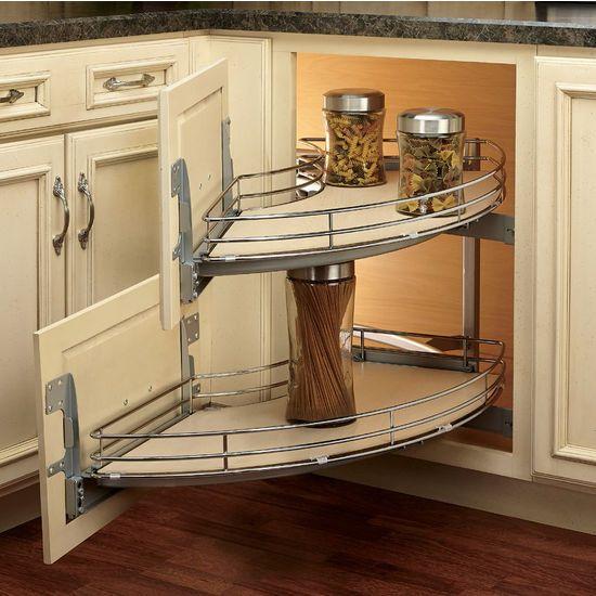 Blind Corner Organizer / Base Cabinet Organizers / Kitchen ...