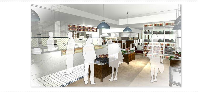 QA Interior Designers Cafe In London Cheltenham