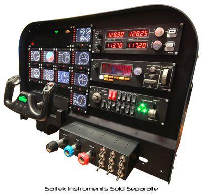 Creating a professional looking saitek flight simulator for House creator simulator