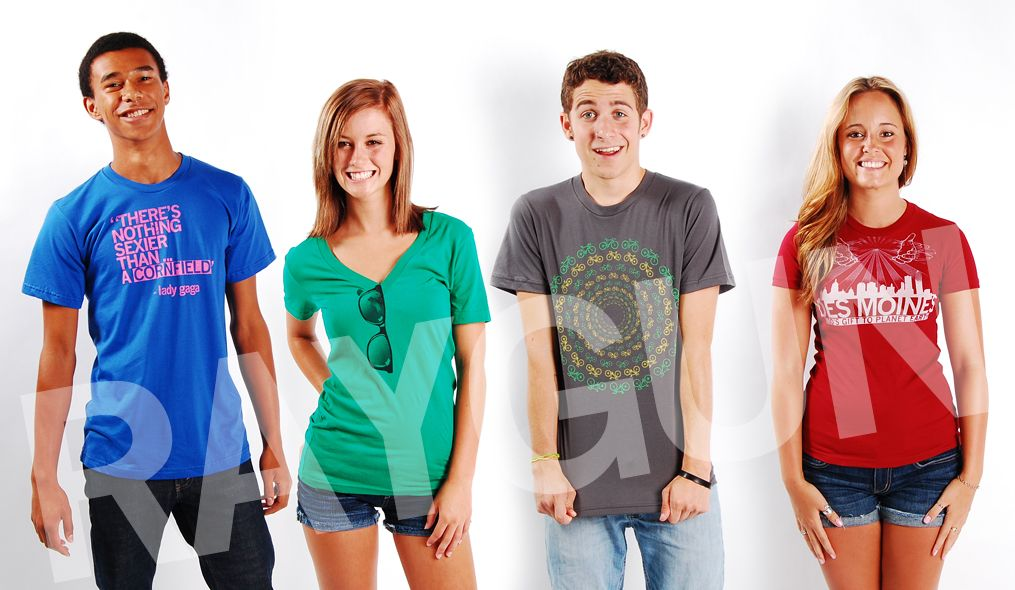 Raygun: The greatest store in the universe. Home to awesome T-shirts featuring the Midwest.