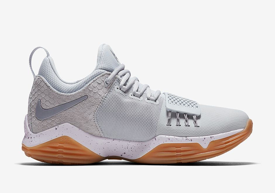 Nike PG 1 Pure Platinum Fishscales Release Date 878628-008 | SneakerNews.com