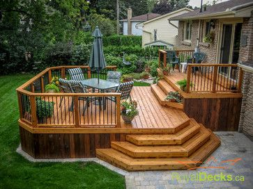 Two Tier Deck Design Ideas Pictures Remodel And Decor Deck