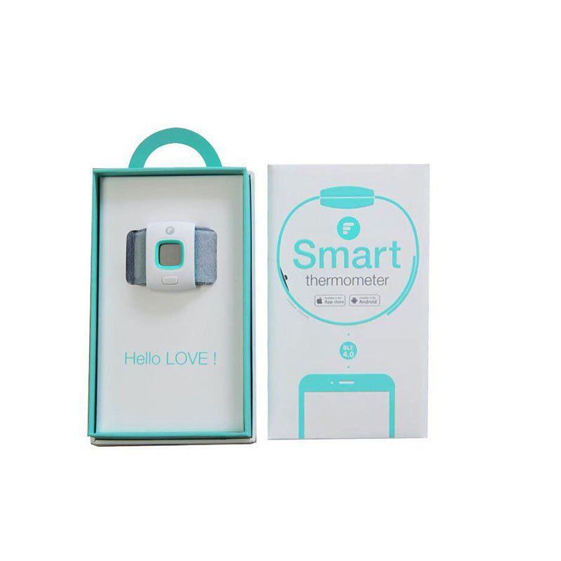 Children Fever Intelligent Wearable Electronic Thermometer