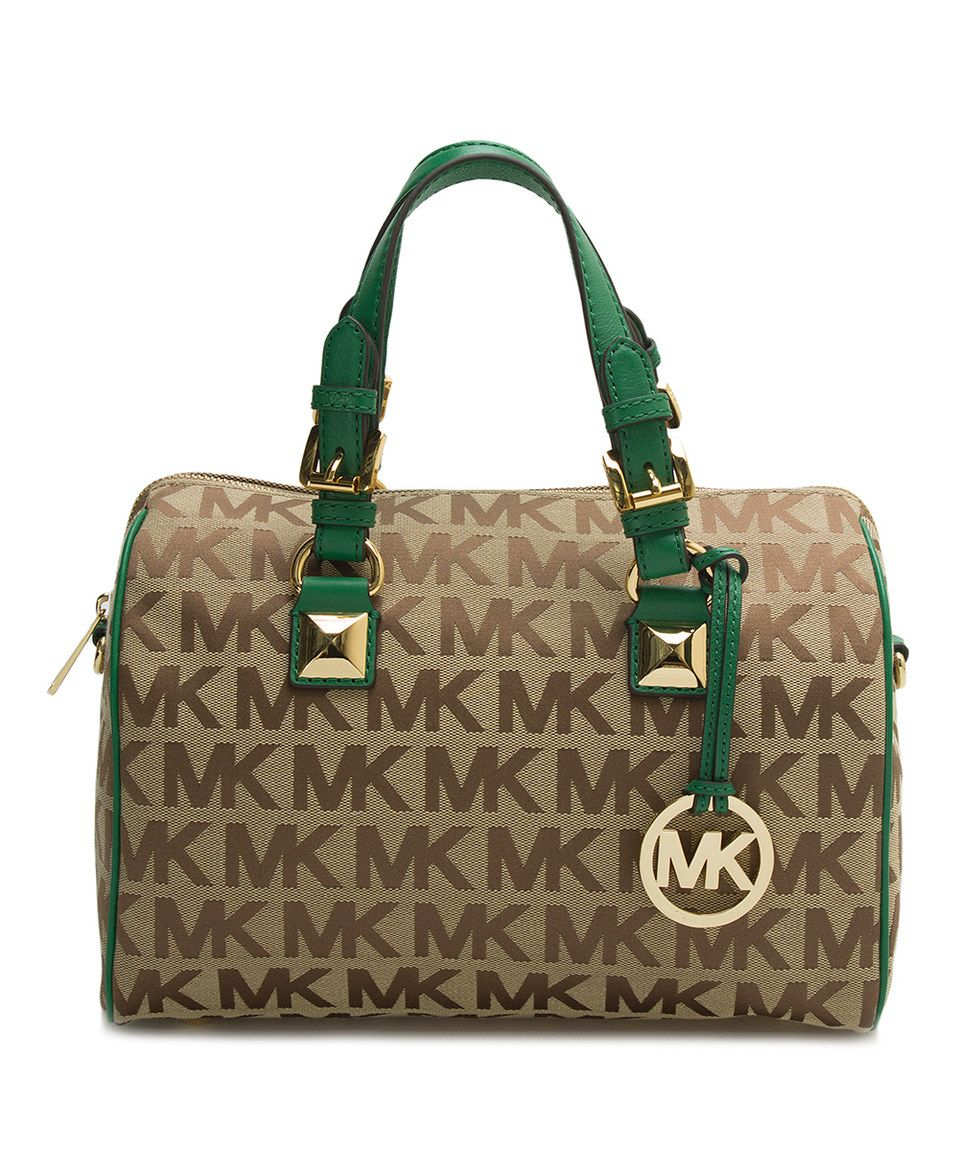 d349ed098f24a8 ... discount code for spain bag loving this michael kors beige berry  grayson 7c4f7 72806 5d60f 909d9