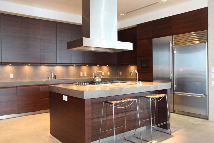 47 Modern Kitchen Design Ideas Cabinet Pictures Brown Kitchen
