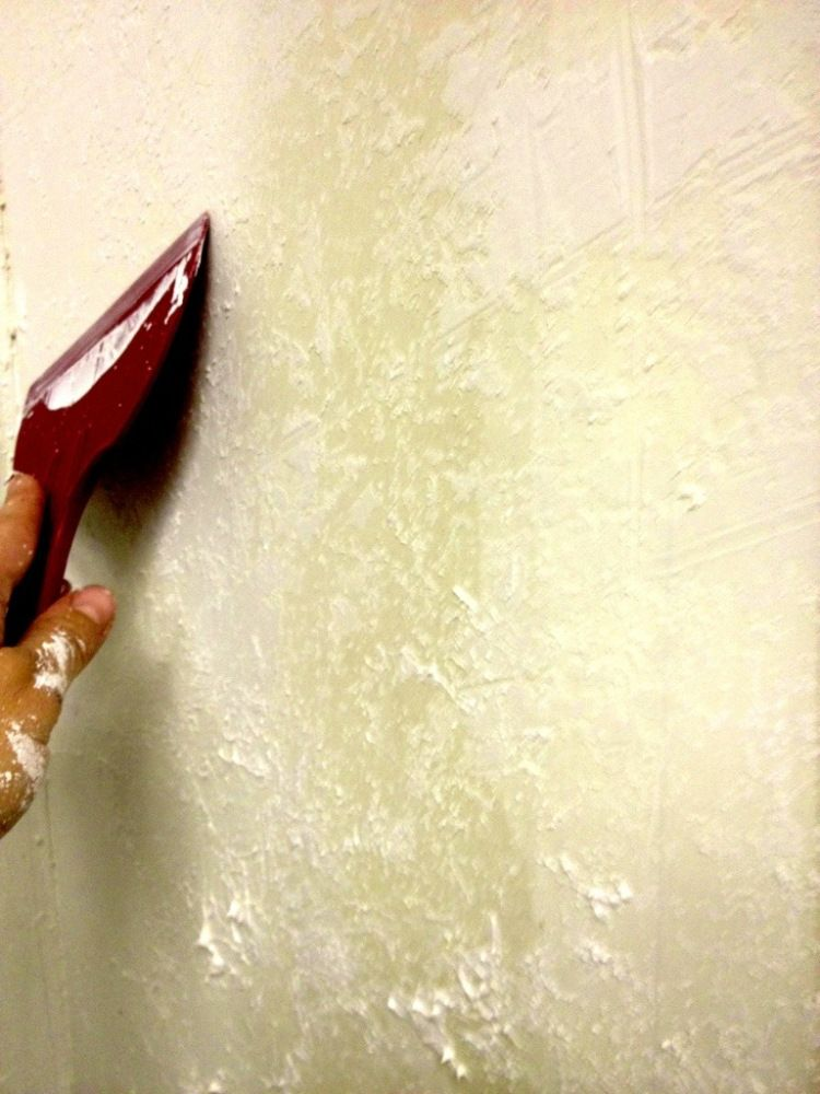 How To Texture A Wall The Easy Cheating Way Textured Walls Drywall Texture Removable Wallpaper