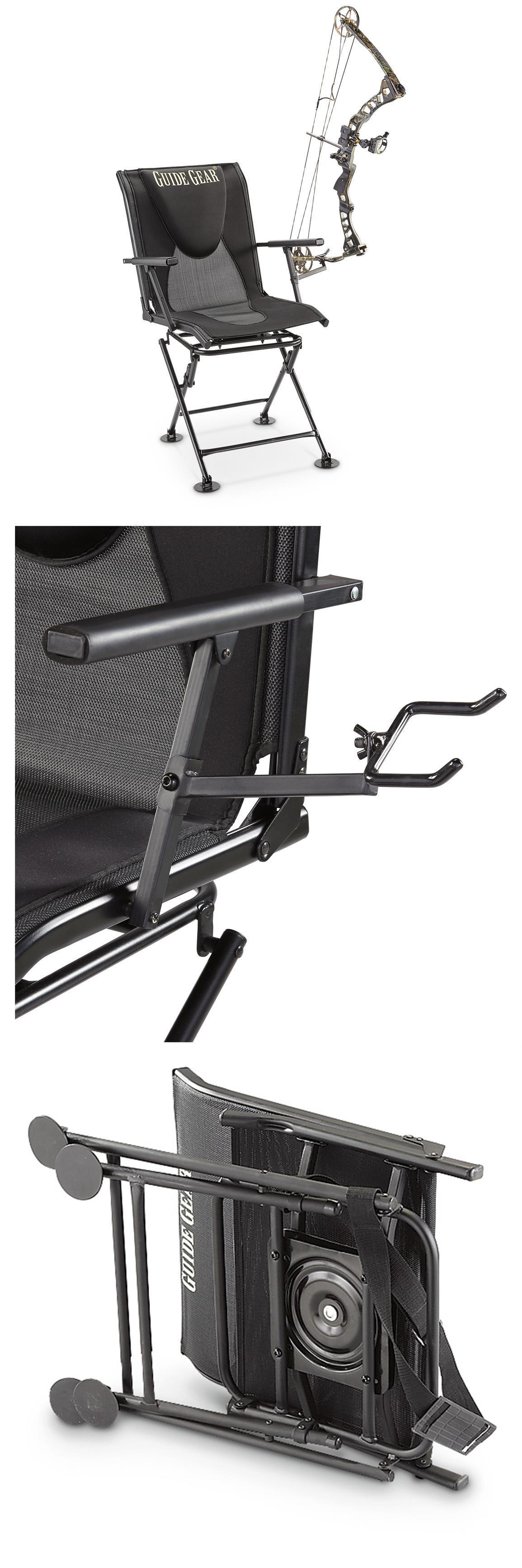 Seats and Chairs New Swivel Hunting Blind Chair Guide Gear