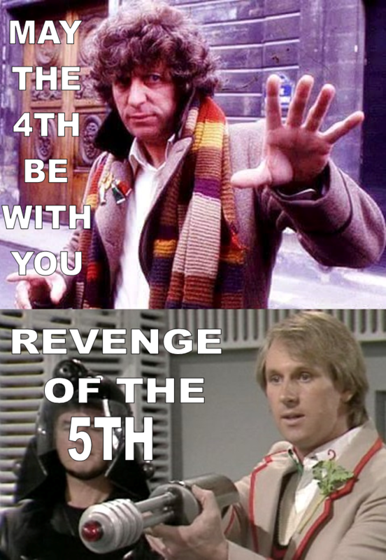 May The 4th Be With You Doctor Who Version.