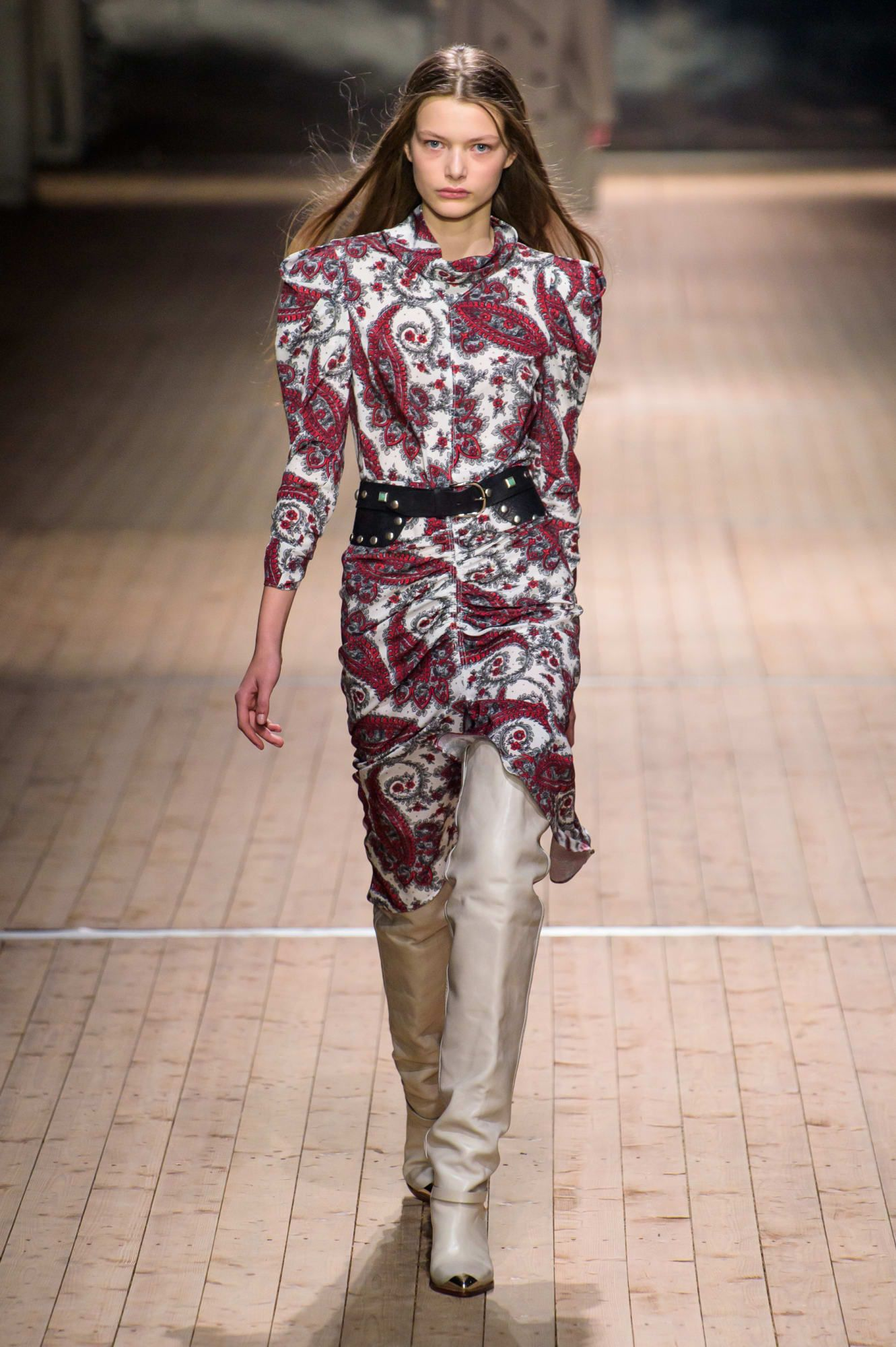 Isabel Marant Takes The French Girl Out West For Fall 2018 Fashionista