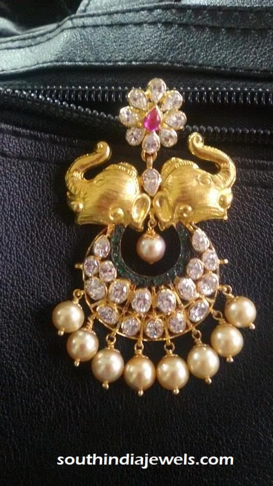 22 carat gold elephant pendant with pearls pearls pendants and gold gold elephant pendant with pearls aloadofball Gallery