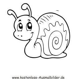 Malvorlagen Schnecke Schnecke Snail Animals Und Coloring Pages