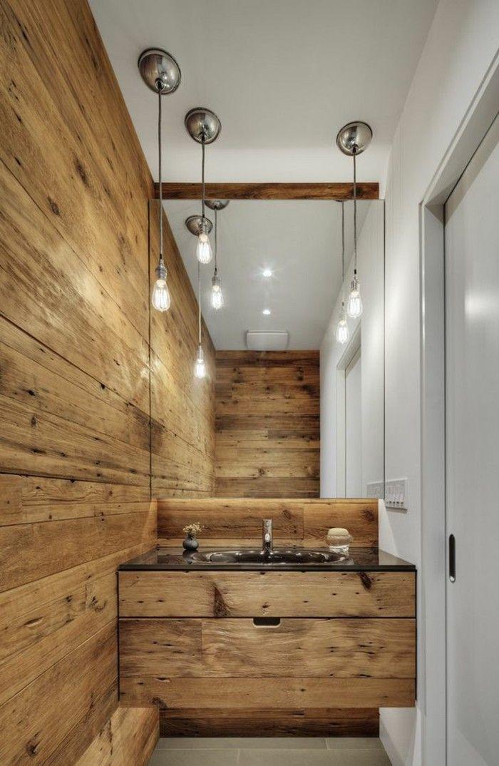 Ideen Zu Rustikale Holzwände Badezimmer Wandverkleidung Mit Holz