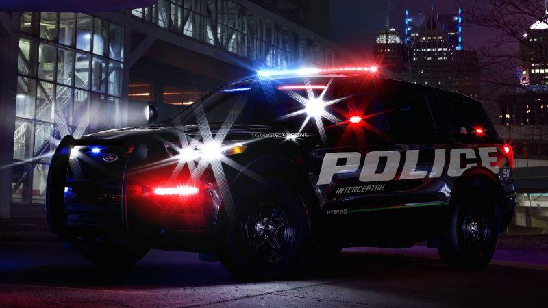 2020 Ford Police Interceptor Utility Gets Hybrid Powertrain Ford