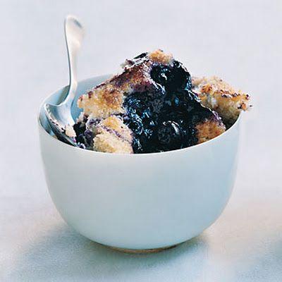 Blueberry Pudding Cake @keyingredient #cake #dessert #breakfast