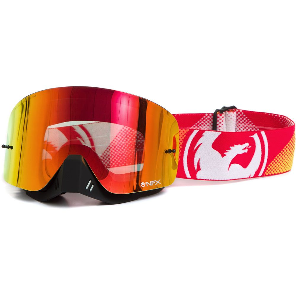 Dragon NFX Fade Orange/Red Ionized Goggles | MXstore Picks ...