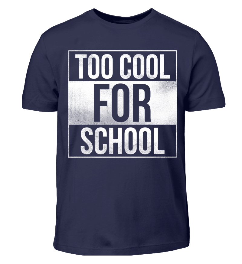 Schule - to cool for school | Freunde t-shirt, Kinder ...