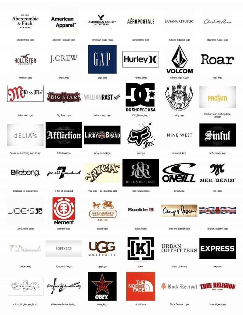 Young Men S Clothing Brands Name Brand Here Is A List Of Some The More Por