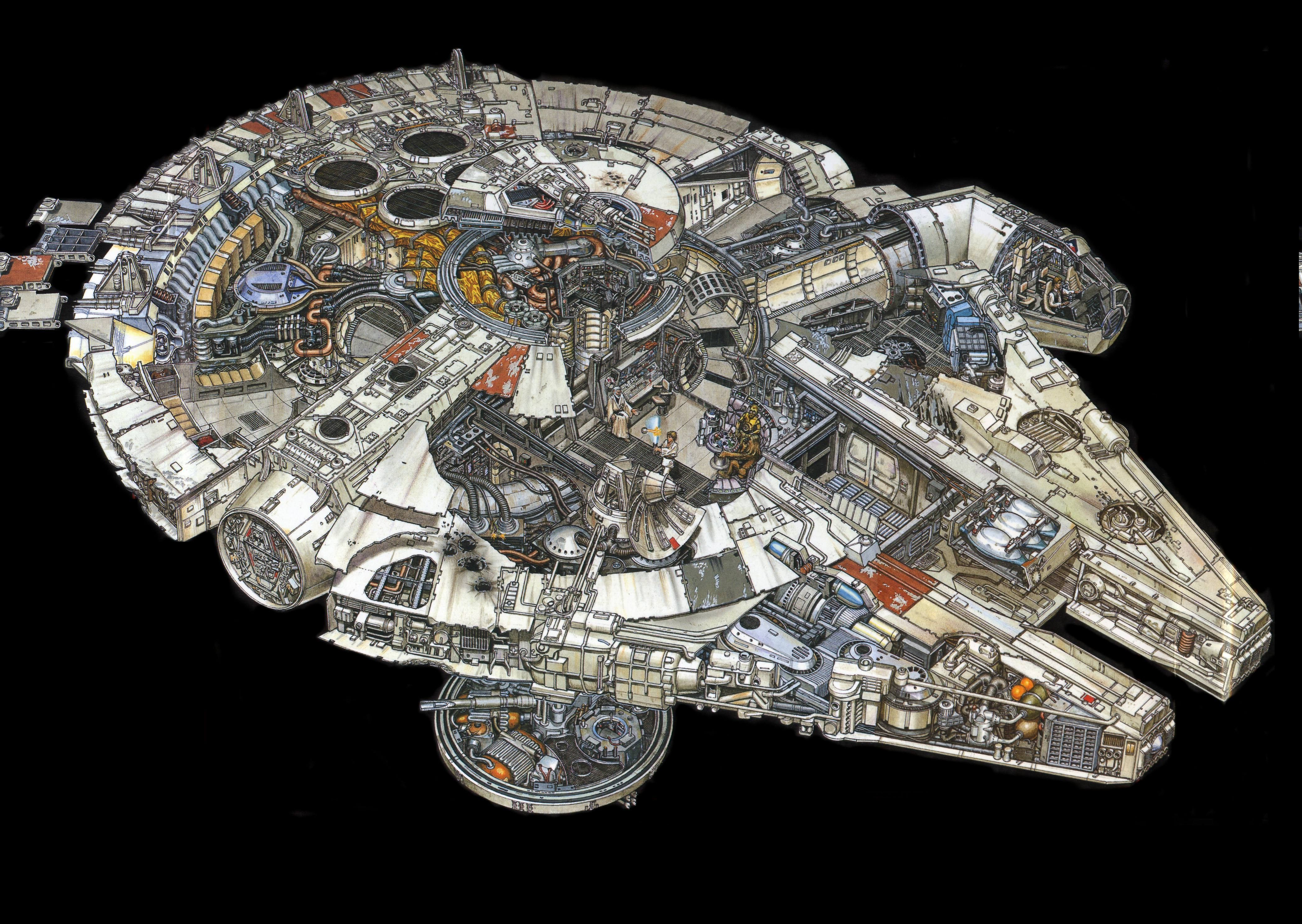 Star Wars Millennium Falcon Wallpapers Hd Desktop And Mobile