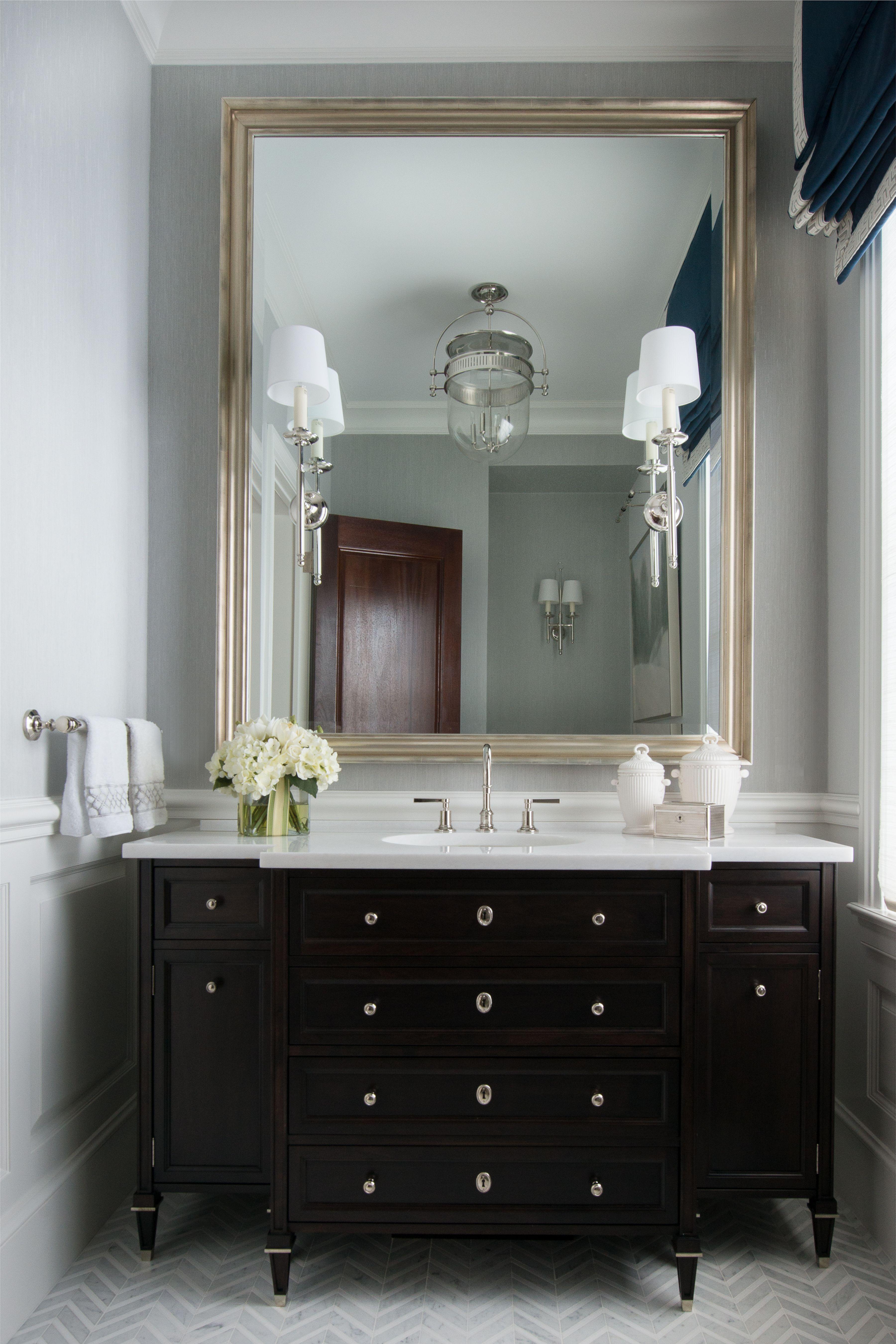 Roughan Interior Design, Powder Room. Photographer Jane ...