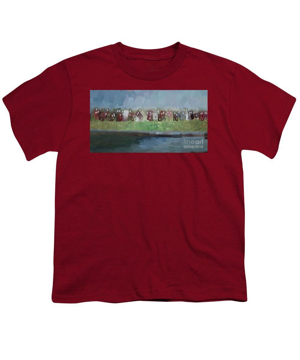 Youth T-Shirt - Abstract Landscape 1526