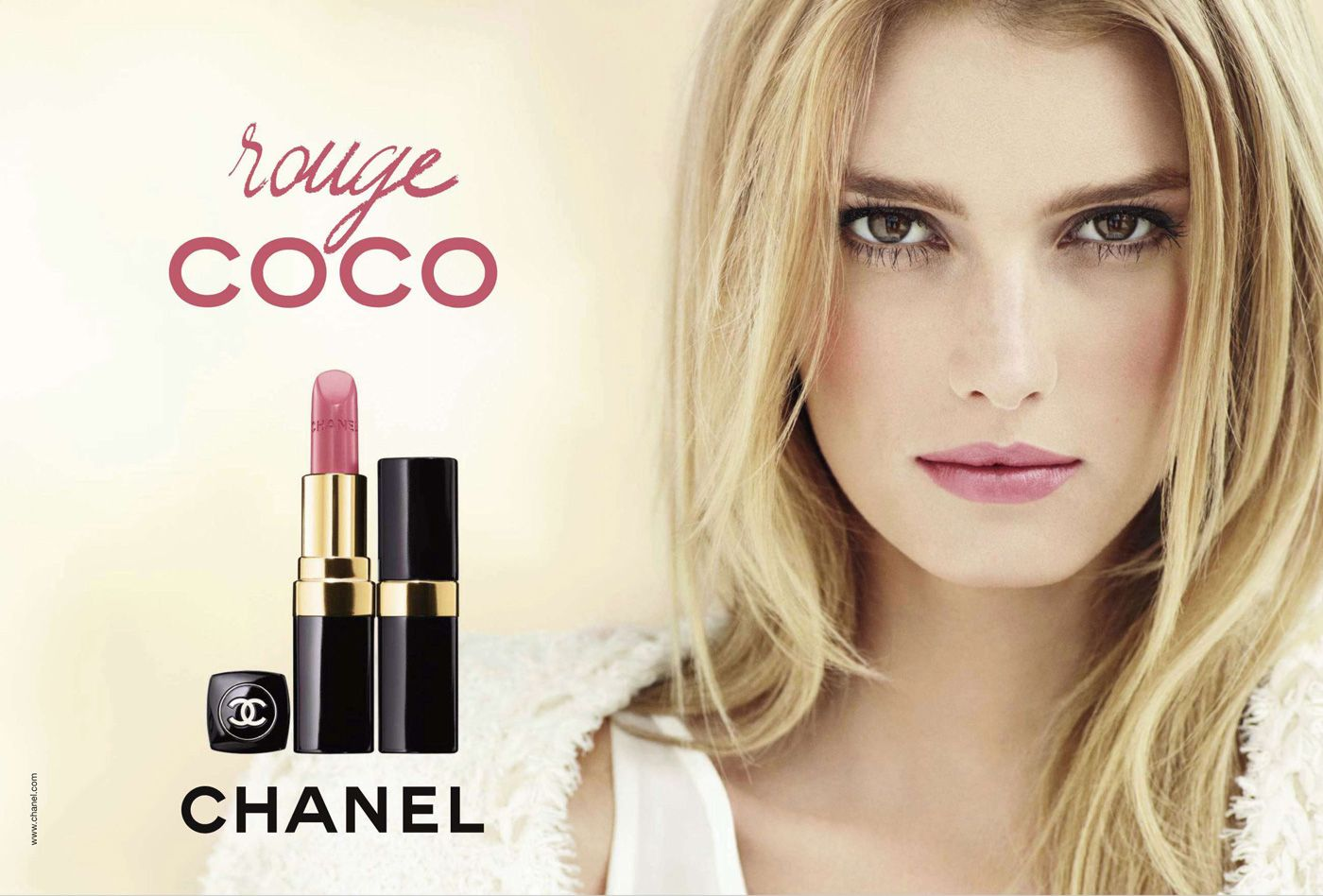 Sigrid Agren for Chanel's Rouge Coco