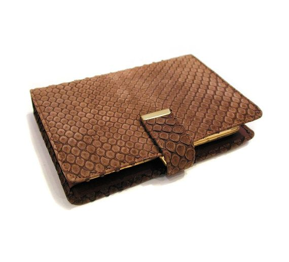 Deadstock 70s Snakeskin Wallet Python Wallet by MorningGlorious
