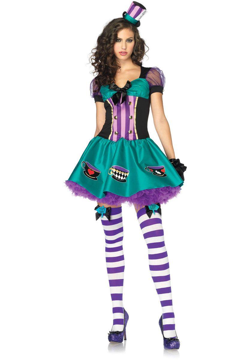 Teacup Mad Hatter Costume, Leg Avenue - Leg Avenue Costumes at ...