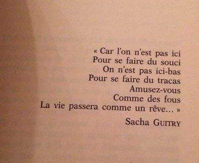 Sacha Guitry Sacha Guitry Je Pense A Toi Citation