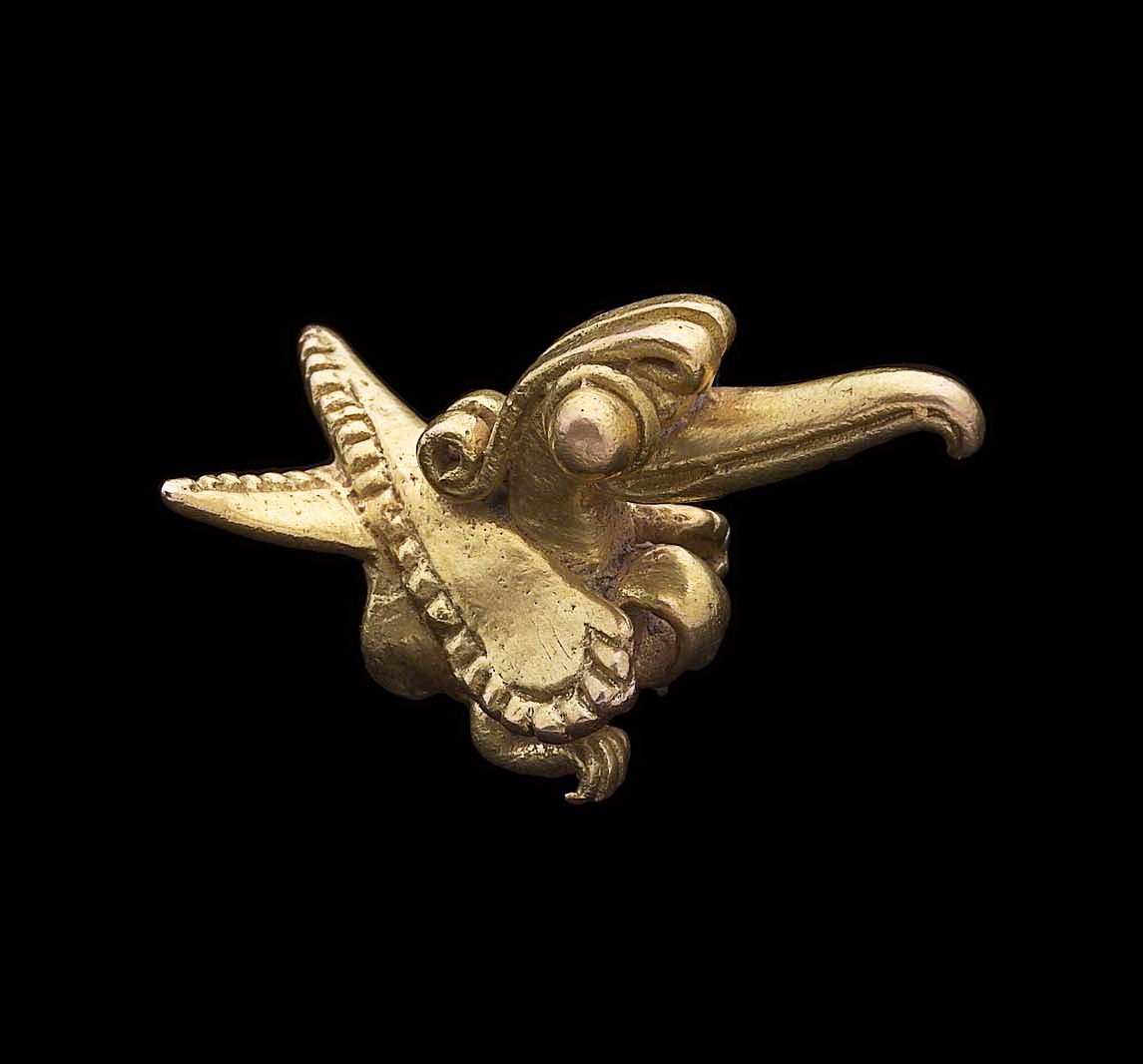 Avian effigy pendant Coclé, A.D. 700–1520 - Place of Origin, Sitio Conte area, Coclé Province, Panama