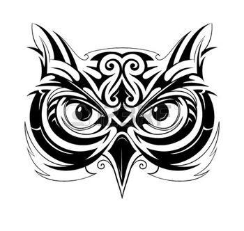 Owl Tribal Tattoo Tribal Owl Tattoos Owl Tattoo Owl Tattoo Design