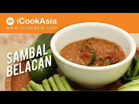 Resepi Sambal Belacan Try Masak Icookasia Youtube Resep Makanan Limau
