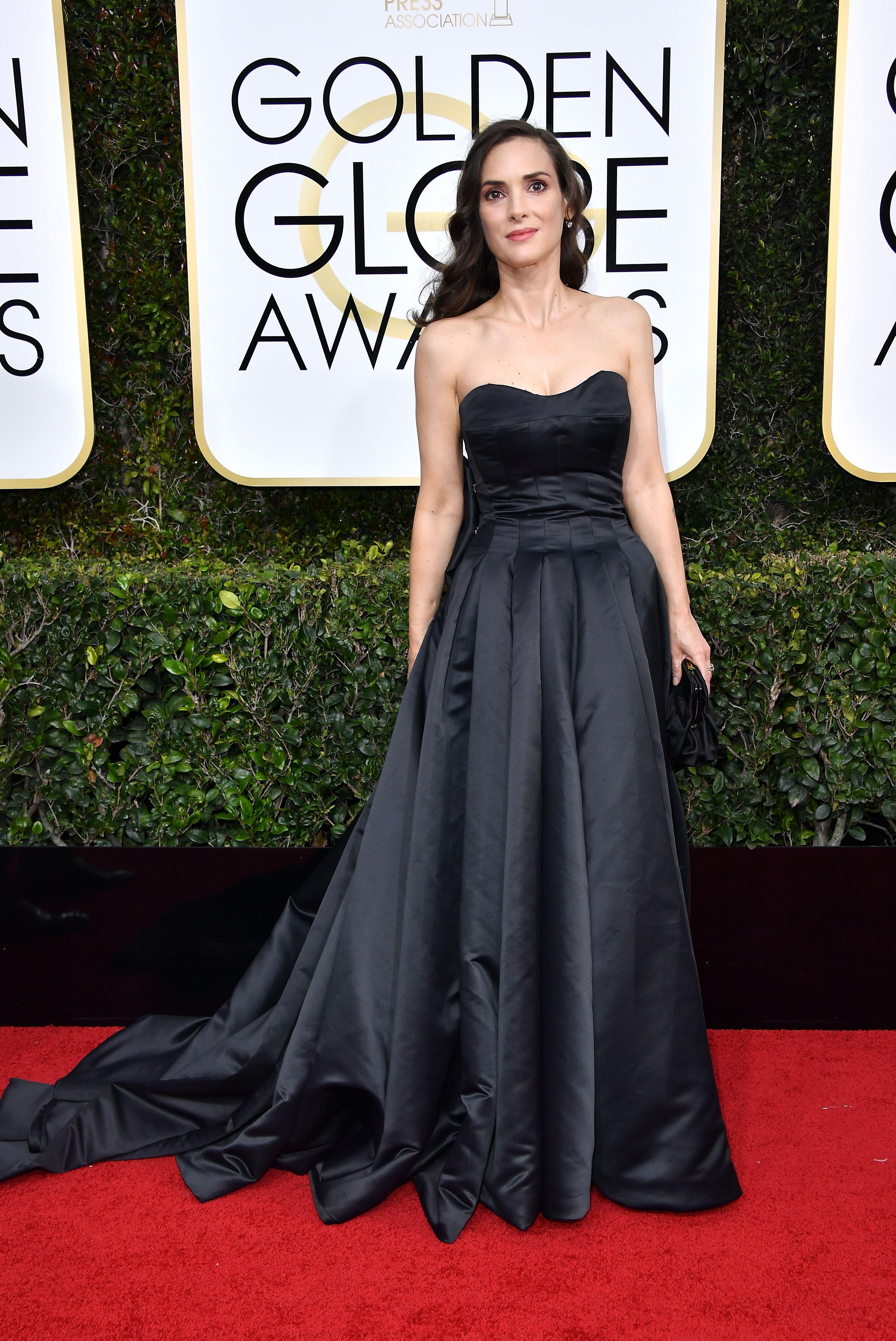 75daac620ea ... the Golden Globes 2017. Winona Ryder. Winona Ryder Winona Ryder