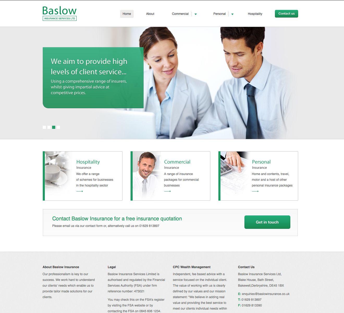Industry Insurance Website In Php Creative Infochem Portfolio